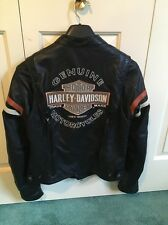 Harley Davidson Women's Miss Enthusiast Leather Jacket 3 in 1 Hood 98142-09VW M