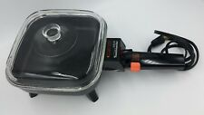 Vintage McGraw-Edison Toastmaster Handi-Pan Model 800 Electric Skillet Book RV