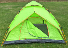 LW Camping Tent 3-4 Person Automatic Instant Pop-up Dome Double Layer Waterproof