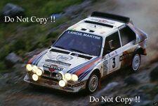 Markku Alen Martini Lancia Delta S4 World Rally Championship Photograph
