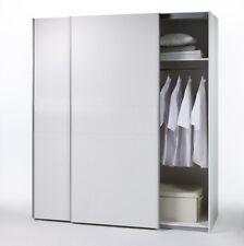 Schwebetürenschrank Schrank Kleiderschrank Dekor Weiss Weiß VANTA 1 Breite 125cm