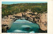 1907 Print Postcard; Arch Rock on Famous Cliff Drive Santa Cruz Ca Unposted