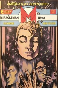 Miracleman #12 Eclipse 1986 Comic Book - VF
