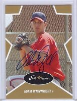 "ADAM WAINWRIGHT 2003 GOLD EDITION ""CERTIFIED AUTOGRAPHED"" ROOKIE CARD! ONLY 100!"
