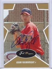 """ADAM WAINWRIGHT 2003 GOLD EDITION """"CERTIFIED AUTOGRAPHED"""" ROOKIE CARD! ONLY 100!"""
