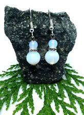 Rainbow Opalite Earrings Drop Dangle Style 925 Silver Plated Hook Fastening