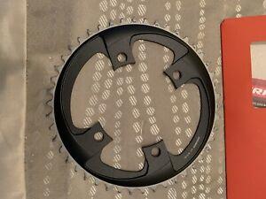 Sram Red AXS 42T 1x12 Speed X-Sync 4-Bolt 4 Chainring 107mm BCD Black/Silver.