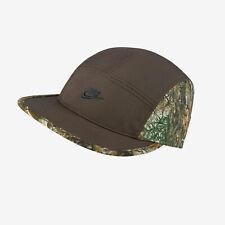 Nike AW84 Real Tree Camo 5 Panel Hat (CI1419 237) Brown adjustable aerobill cap