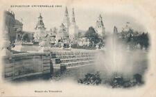 1900 Paris Exposition Bassin du Trocadero – udb