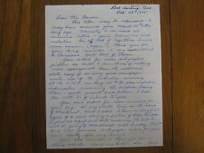 HAROLD (H.A.) WILSON  Miss Canada IV  Signed   2-Page Personal Letter Dated 1975