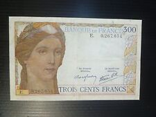 France Lot P-87 1938 300 Francs VF Add Collection