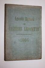 AGENDA BUVARD des GALERIES LAFAYETTE - 1904