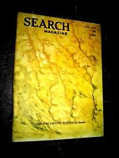 Search Magazine #110 ~ 1973  ufonauts astrology UFO's paranormal Occult Pyramids