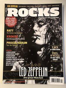 Rocks Classic Rock Magazin - 02/2010 - Led Zeppelin - Top Zustand