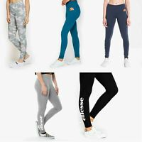 Ellesse Solos 2 Leggings Jogging Bottoms in Anthracite, Grey & Blue SGS04703
