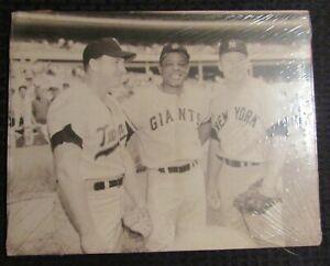 "Vintage Mickey Mantle Willie Mays & Harmon Killebrew 14x11"" Promo Print FN 6.0"