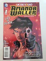 SUICIDE SQUAD: AMANDA WALLER #1 (2014) DC 52 COMICS MOVIE! 1ST PRINT! JIM ZUB NM