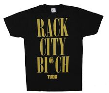 New: TYGA - Rack City Bitch (Size: XS) (Black) Concert T-Shirt