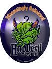 Hop devil Ale Beer Metal Sign Victory Brewing HopDevil