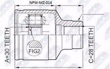 GELENKSATZ INNEN MAZDA 626 GF/GW 2.0,2.0TD 1997-2002 / RECHTS- NEU!! !