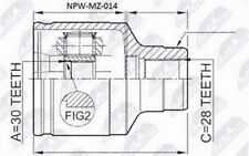 JOINT SET INTERIOR MAZDA 626 GF/GW 2.0,2.0TD 1997-2002 / RIGHT NEW