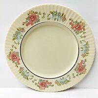 "Lenox USA Sachet Set of 3 Dinner Plates 11"" - Pink Blue White Yellow Floral"