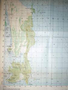 6836 i - US / ARVN MAP - HAI DONG - South China Sea - Qui Nhon 1973, Vietnam War