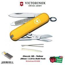 Victorinox Swiss Army Knife Classic SD, Yellow, 58mm Tool #53008
