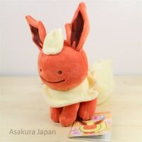 Pokemon Center Original Plush Transform Ditto Flareon doll From Japan