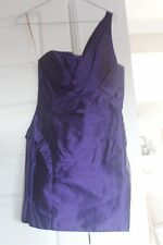 Evening, Cocktail, Party, Races Dress-Deep Purple size 8 Manning Cartell