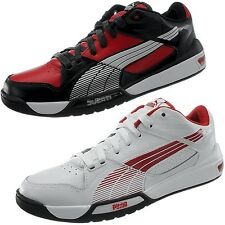 PUMA Hypermoto Low men's low top sneakers Ducati red/black or white/red NEW