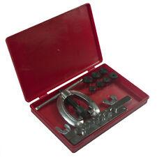 10 Piece Metric Brake Pipe Flaring Tool Kit Mechanic Plumber Set For Car Truck