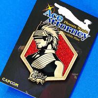 Phoenix Wright Ace Attorney Godot Golden Glitter Portrait Pin Figure Switch 3DS
