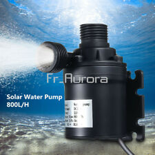 DC 12V 24V Hot Water Circulation Pump Solar Water Pump Brushless Motor 800L/H