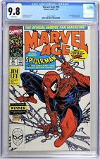 S590 MARVEL AGE #90 CGC 9.8 NM/MT (1990) CLASSIC TODD McFARLANE SPIDER-MAN Cover