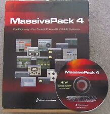 Digidesign Avid massivepack 4 Mac PC Pro Tools HD Accel Venue-software solamente
