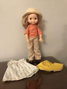 "Vintage My Friend Mandy Doll Blonde Hair Blue Eyes 16"" 1976"