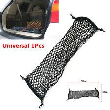 90x30cm Car Vehicle Rear Seat Mesh Pocket Boot Cargo Organiser Storage Net Black