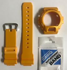 CASIO Original G-shock Band  DW-6900SB-9  Yellow Strap & Yellow Bezel  DW-6900SB