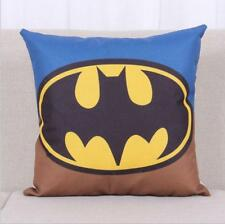 Throw Pillow Case Cushion Cover Cotton Linen Batman sofa pillowslip