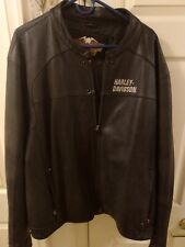 HARLEY DAVIDSON LEATHER JACKET XXXL Made In Indonesia