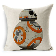 "18""x45cm Star Wars The Force Awakens 009 Cotton Linen Cushion cover Pillowcase"