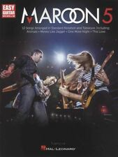 Maroon 5 Easy Guitar TAB Music Book Animals Moves Like Jagger One More Night