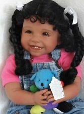 "Reborn 23"" Biracial Ethnic Toddler Girl Doll ""Joy"""