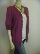CAPTURE Cotton Knit Summer Cardigan sz 12 - BUY Any 5 Items = Free Post