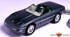 RARE! KEY CHAIN 91~92~93~1994~1995~1996 POLO GREEN CHEVY CORVETTE C4 CONVERTIBLE