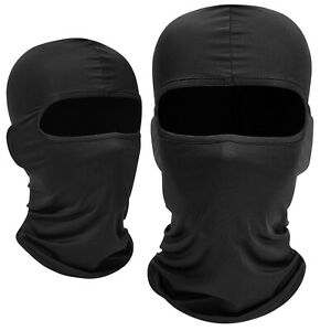 New Black Ultra thin Balaclava Ski Moto Bike Face Mask Outdoor Sports Swat