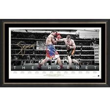 Jeff Horn - The Hornet Personally Signed Lithograph