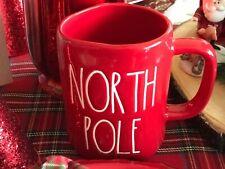Magenta Rae Dunn Christmas Winter Traditional LL Red North Pole Mug New!