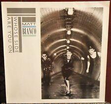 Matt Bianco Whose Side Are You On 1984 Vinyl Euro Press WEA 240 472-1/WX 7 EX/EX